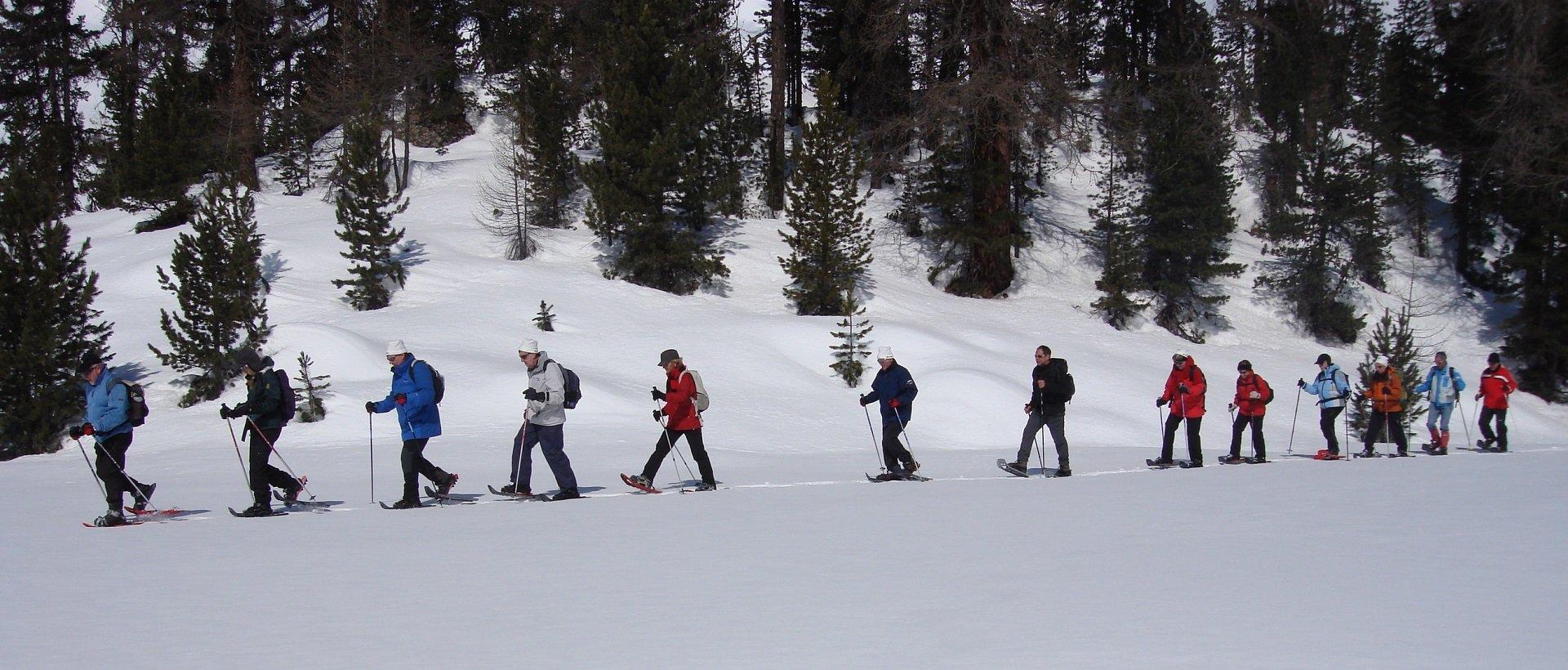 Schneeschuhtouren für Gruppen